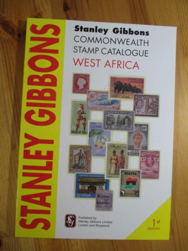 VEGAS - 2009 1st Edition - Stanley Gibbons West Africa Stamp Catalogue - CV115