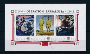 [81045] Nevis 2011 Second World war Operation Barbarossa Sheet MNH
