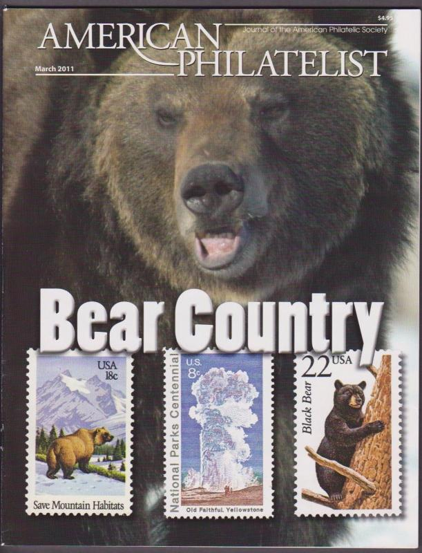 APS Magazine Mar 2011 , Geysers and Bisons in Bear Country - I Combine S/H
