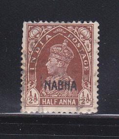 India Nabha 70 U King George VI
