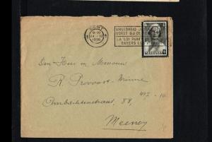 1936 - Belgium Cover - From Gent to Meeney [B09_120]