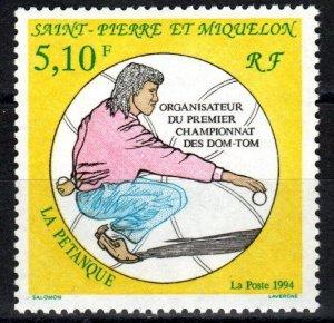 St Pierre & Miquelon #598  MNH CV $2.50 (Z9824)