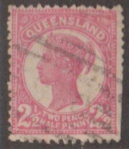 Queensland - Australia Scott #115 Stamp - Used Single