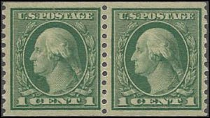 490 Mint,OG,NH... Pair... SCV $2.60