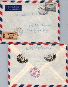 Czechoslovakia, Registered