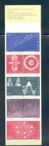 Sweden Sc 1429a 1982 Nobel Prize stamp bklt pane mint NH