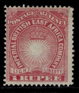 BRITISH EAST AFRICA QV SG14, 1r carmine, M MINT.