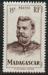 Madagascar Scott 283 MNH**  1946 stamp typical centering