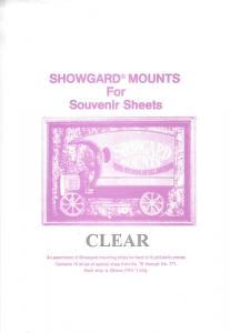 SHOWGARD CLEAR MOUNTS MASTERPACK II (15) RETAIL PRICE $32.75