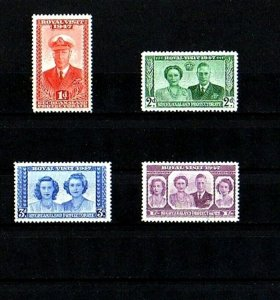 BECHUANALAND - 1947 - KG VI - ROYAL VISIT - ROYAL FAMILY - MINT - MNH SET!