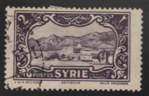 Syria Scott 220 Used stamp 1932
