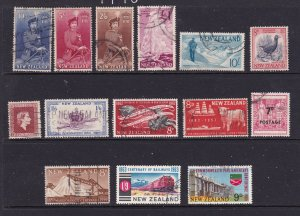 New Zealand a small used lot of early QE2 era better values