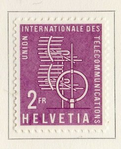 Switzerland Helvetia 1958 Early Issue Fine Mint Hinged 2F. NW-170840