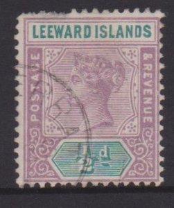 Leeward Islands Sc#1 Used - Postmark Cancel Monsterrat