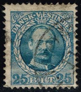 Danish West Indies #47 King Frederik VIII; Used (2.50)