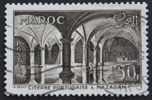 DYNAMITE Stamps: French Morocco Scott #326 - USED