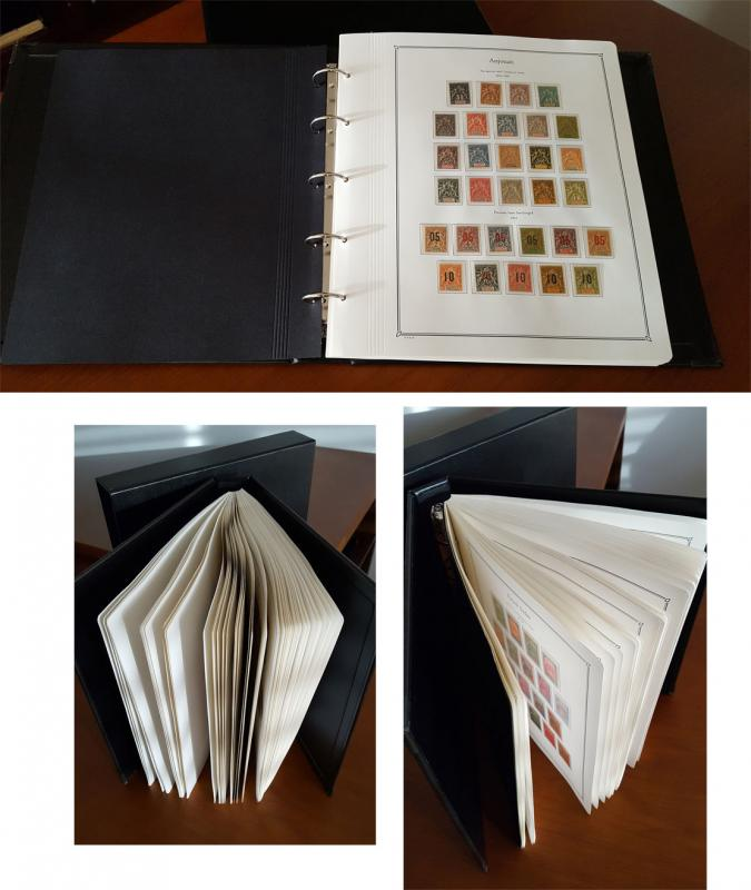 French Colonies 1892-1940 - Complete MINT Collection of 13 different Colonies /*