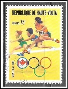 Upper Volta #392 Montreal Olympics CTO