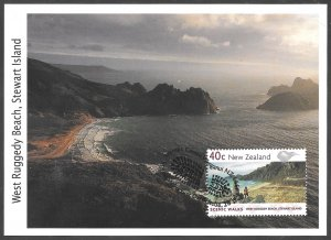 [24888] New Zealand # 1602 - 07 First Day Cover On Postcards