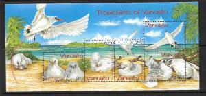 VANUATU SGMS937 2004 RED-TAILED TROPIC BIRDS MNH