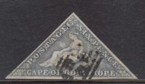 Cape Of Good Hope #5b VF Used **With Certificate**