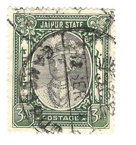 India Jaipur State 1931 - Scott #29