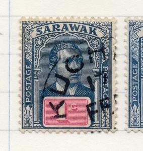 Sarawak 1918 Early Issue Fine Used 1c. 196148