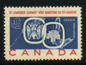 CANADA: Sc.#387a  **  5¢ Seaway, SPECTACULAR example of this most popular Ca...