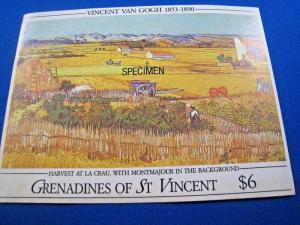 GRENADINES OF ST. VINCENT  -  SCOTT # 767  S/S   MNH   (gg)
