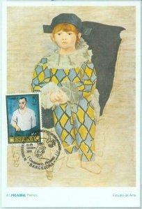 86497 - SPAIN - Postal History - MAXIMUM CARD - ART Picasso 1981
