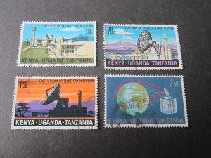 Kenya Uganda Tanganyika(KUT) 1970 Sc 213-6 space set FU