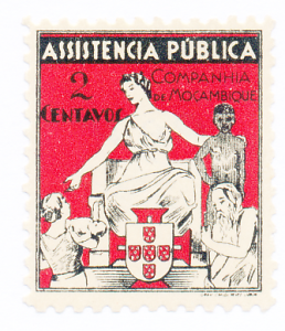 Mozambique Company Stamp Scott #RA4, Mint Hinged - Free U.S. Shipping, Free W...