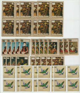 Ancient Paintings Munchen 73 Birds Flowers Rwanda MNH** Stamps 13980