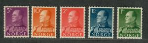 Norway Sc#370-373 M/NH/VF, Partial Set, Cv. $80.50