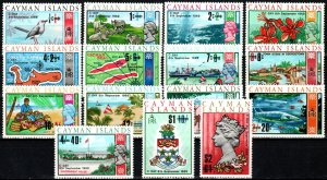 Cayman Islands #227-41   MNH V $9.60 (X7466)