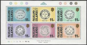 Falkland Islands #304 MNH Miniature Sheet of 6