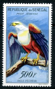 Senegal C30 airmail bird disturbed gum unused      (Inv 001291.)