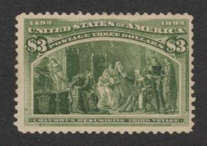 US#243a Olive Green - Unused - O.G.