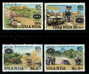 Uganda 167-70 Used 1977 Safari Rally