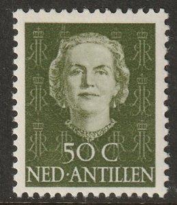 Netherlands Antilles 1950 Sc 225 MLH*