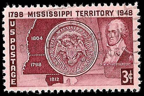# 955 USED MISSISSIPPI TERRITORY