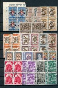 Vatican Religion Art Blocks Used )210 Stamps (NT612