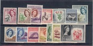 Southern Rhodesia, 81-94, Various Designs Singles, **MNH**
