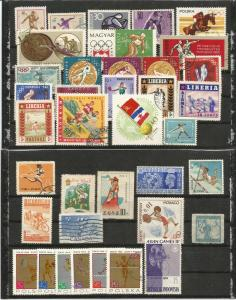 One lot SPORTS stamps