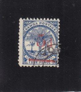 Samoa: Sc #21, Used (35727)