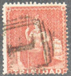 DYNAMITE Stamps: Trinidad Scott #27 - USED