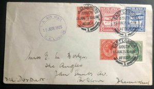 1925 East London South Africa Experimental Flight Airmail Cover to Johannesburg
