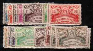 Guadeloupe Scott 168-86 Mint hinged