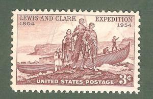 1063 Lewis And Clark Expedition US Single Mint/nh (Free Shipping)