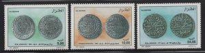 Algeria 2001 Ancient Coins set Sc# 1217-19 NH